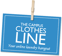 The Campus Clothes Line - Your online laundry hangout